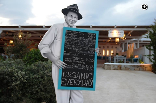 Nice n Easy Bio restaurant at Kalo Livadi beach Mykonos