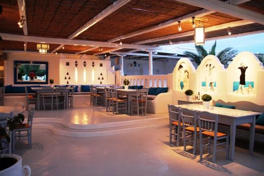 Nice n Easy Mykonos restaurant at Kalo Livadi Mykonos