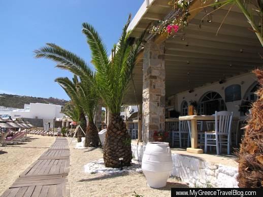 Notos restaurant Mykonos
