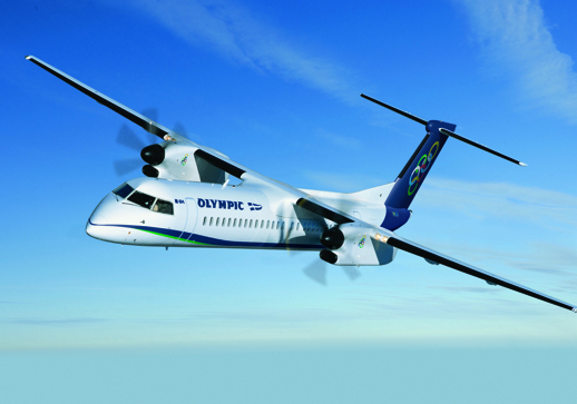 Olympic Air photo of an Olympic Q400 F2 aircraft