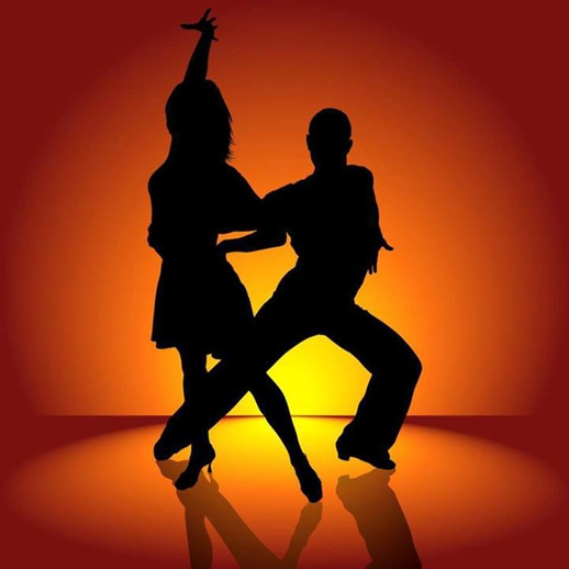 Latin Dance Party poster for Panormos beach bar & restaurant Mykonos