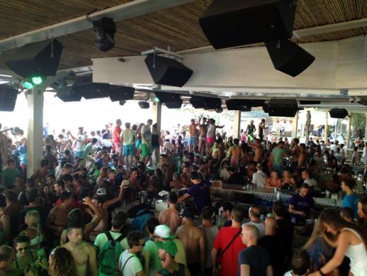 Tropicana Club Mykonos party scene