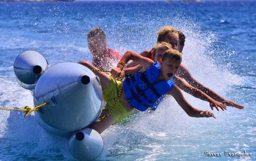 family water ride on Naxos photo by Savvas Evangelos
