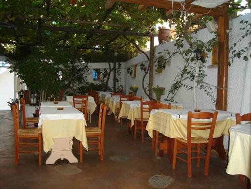 Eva's Garden restaurant Mykonos Town