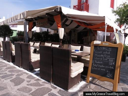Fato A Mano restaurant in Mykonos