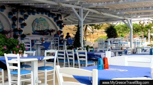 H Epistrophi taverna at Agios Stefanos Mykonos