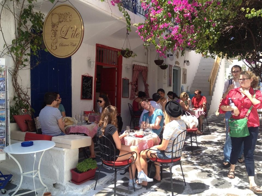 L'Ile Bistrot Cafe in Mykonos
