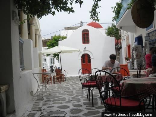 L'ile Bistrot-Cafe at 3 Kampani Street in Mykonos Town IMG_5811
