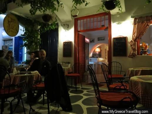 L'ile Bistrot Cafe in Mykonos Town