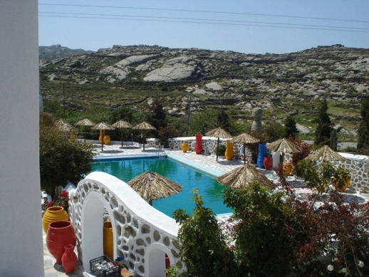 Sun of Mykonos Studios swimming pool