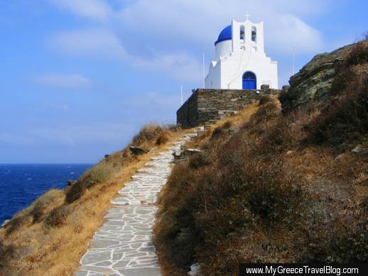 Chapel of the Seven Martyrs on Sifnos island