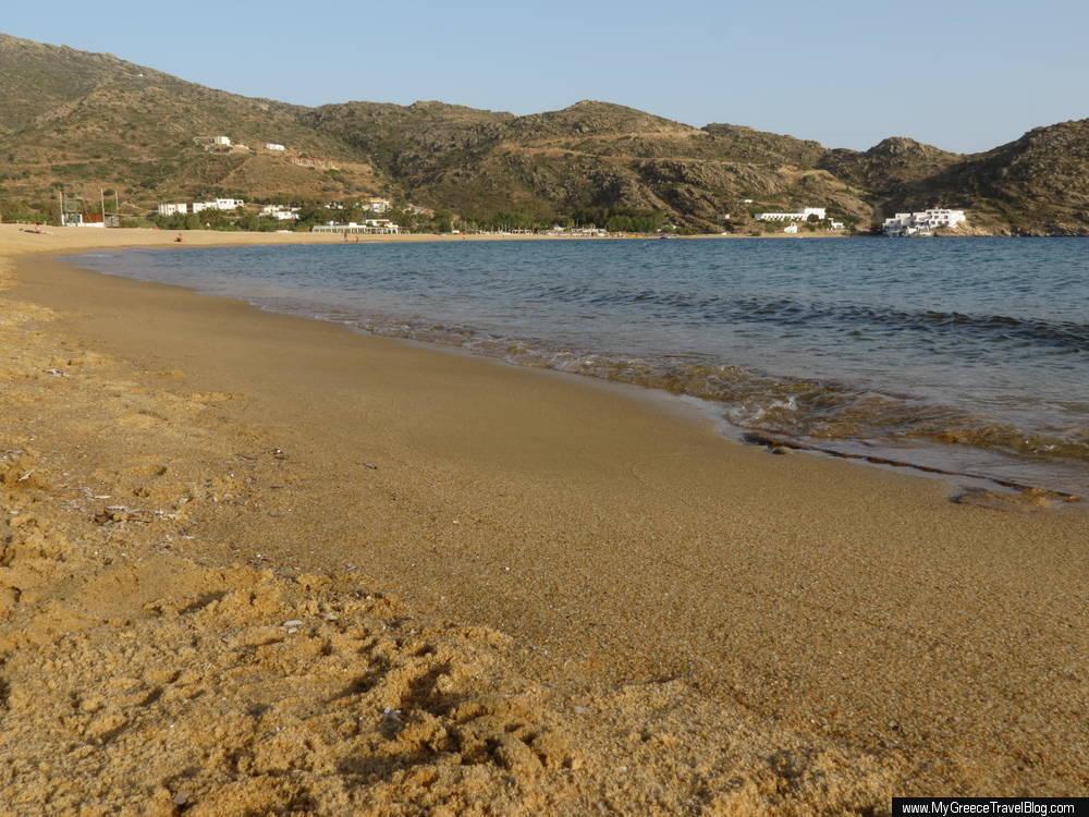 Milopotas beach on Ios