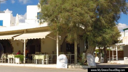 Barbounis taverna Naxos