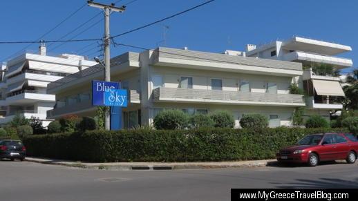 Blue Sky Hotel in Glyfada
