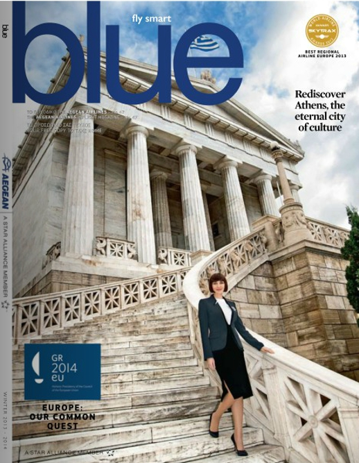 Aegean Airlines Blue magazine