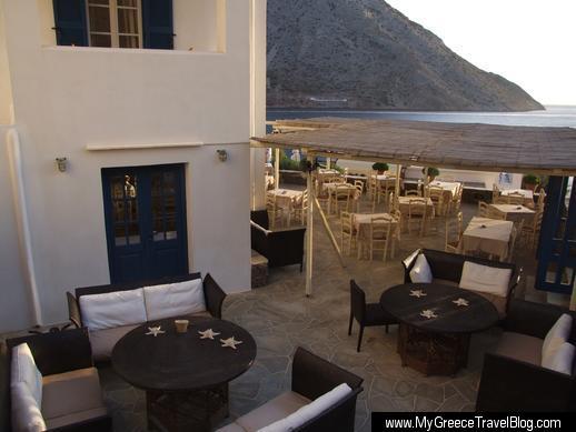 Delfini Hotel on Sifnos