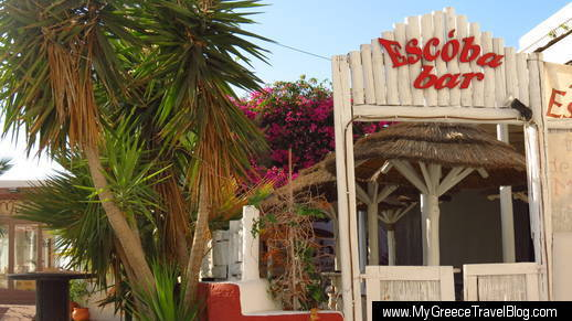 Escoba Bar in Naxos Town