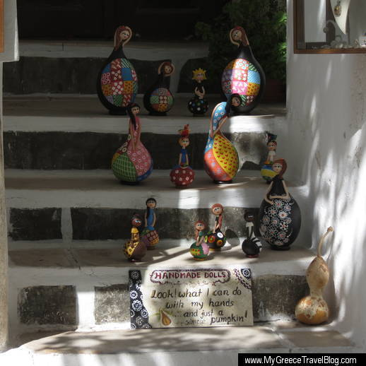 Pumpkin dolls on Naxos
