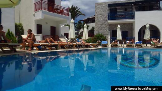 Hotel Katerina on Naxos