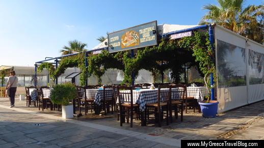 Irini's restaurant Naxos