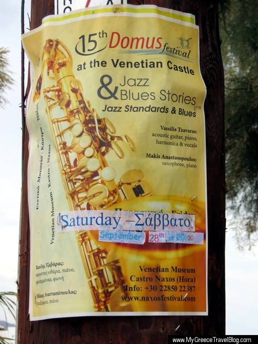 Jazz & Blues concert poster
