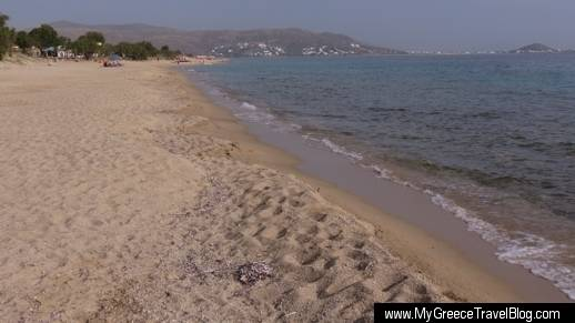 Maragas beach on Naxos