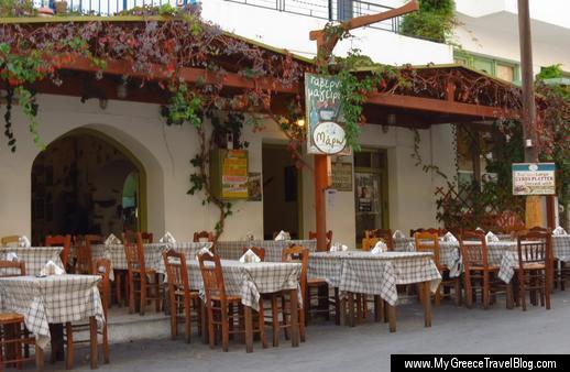 Maro Taverna in Naxos