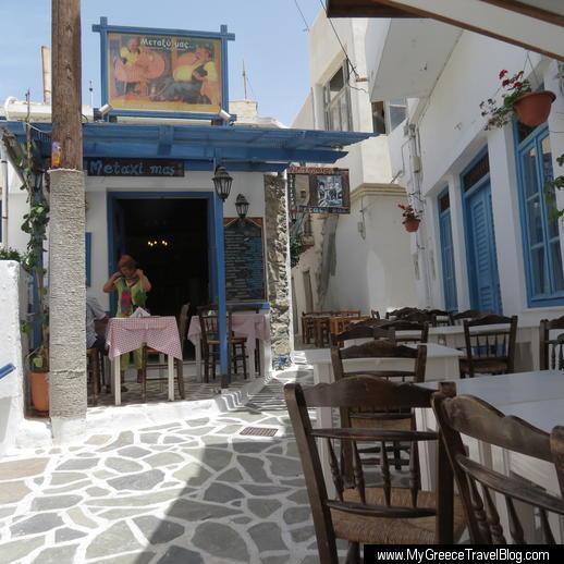 Metaxi Mas taverna Naxos Town