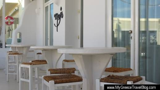Ocean Mojo Bar in Naxos