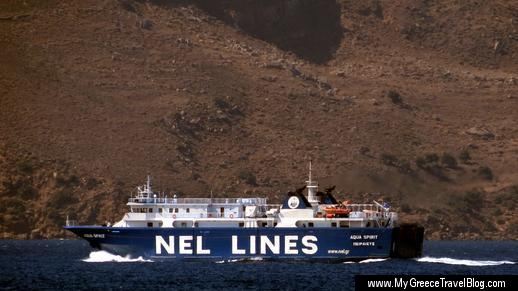 NEL Lines Aqua Spirit ferry