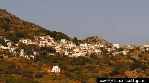 Skado village on Naxos