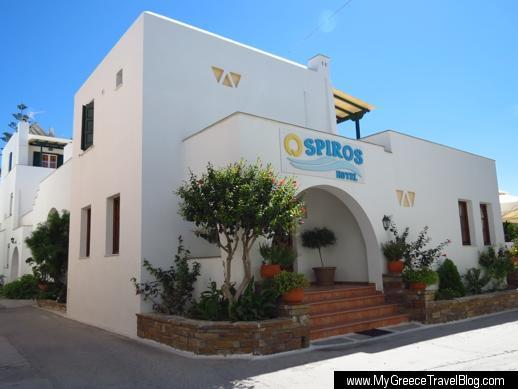 Spiros Hotel in Naxos Town
