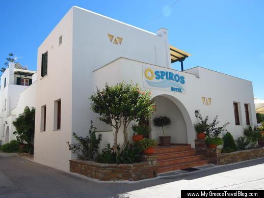 Spiros Hotel on Naxos