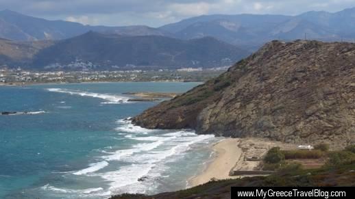 Stelida beach Naxos