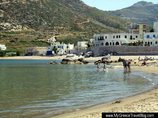 beach at Apollonas
