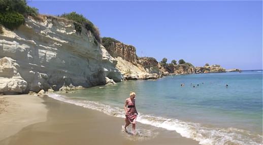 Hersonissos Crete beach