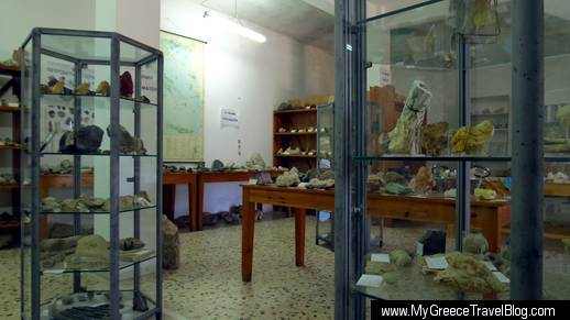 Geological Museum in Apeiranthos
