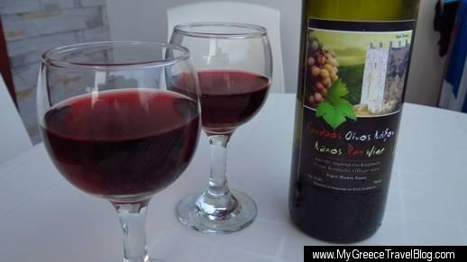 Naxos wine