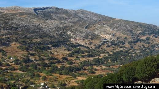 mountain valley near Apeiranthos