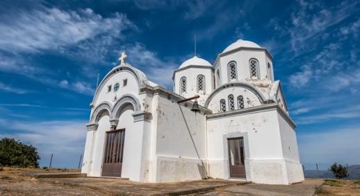 church in Hersonissos Crete