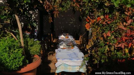 Matina & Stavros taverna