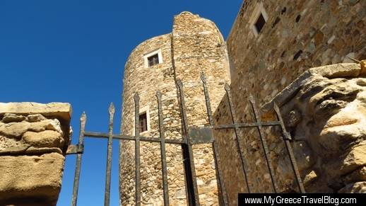 the castle of Naxos Town