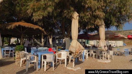 Aperanto Galazio taverna Varkiza