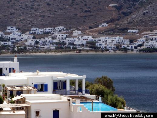 Delfini Hotel on Sifnos Sifnos