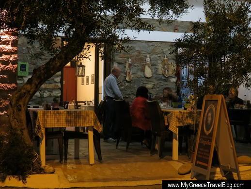 Giagiaka's Kitchen in Naxos