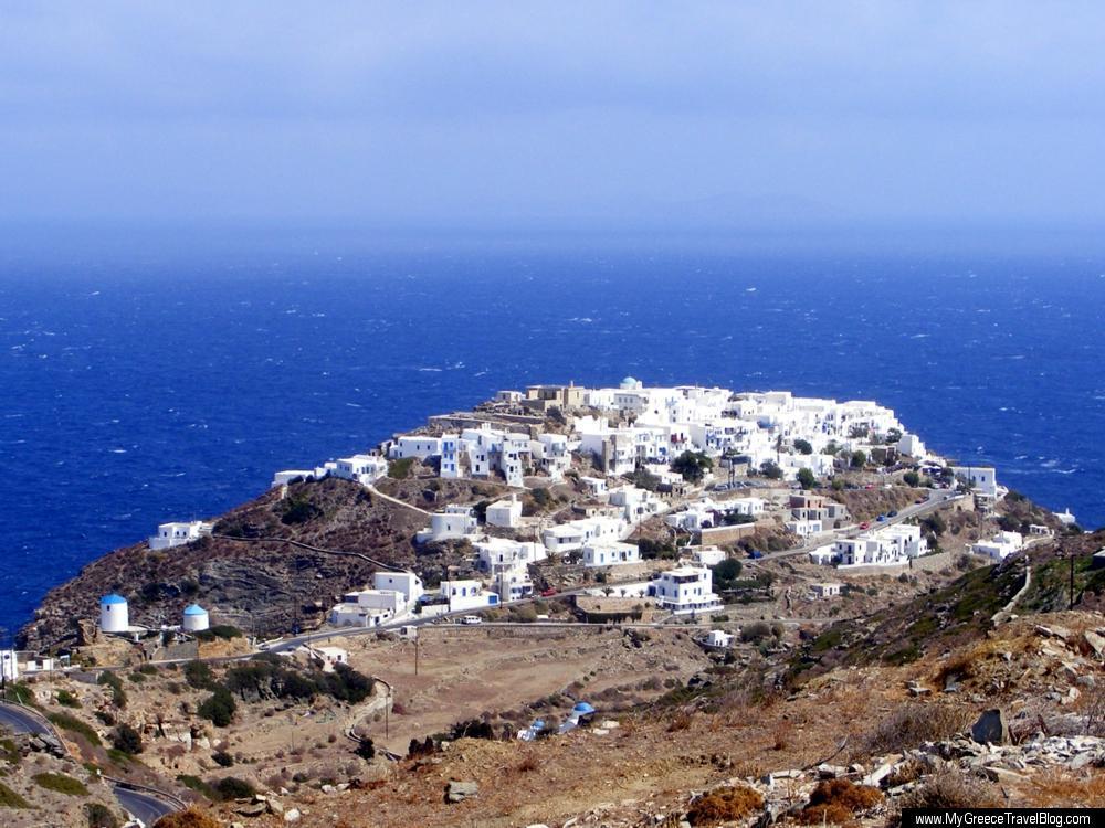 Kastro village on Sifnos