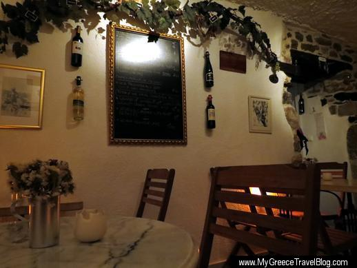 La Vigne French Wine Bar in Naxos