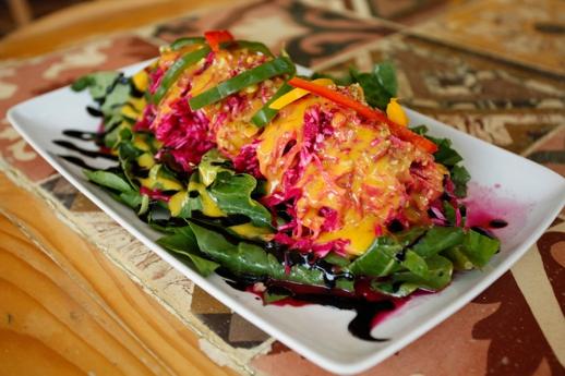 Lemoni Grill House salad