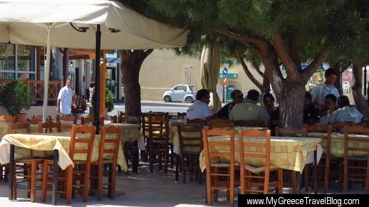To Trigono Taverna in Kalyvia