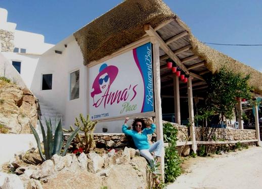 Anna's Place Mykonos